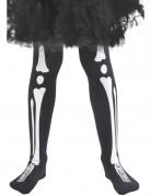 Collants squelette enfant Halloween