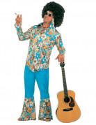 Hippie Costume for Men multicoloured