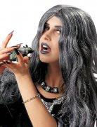 Curly Longhair Wig for Women grey