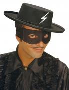 Chapeau cavalier noir mexicain