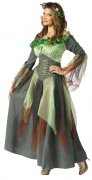 Enchanting Wood Fairy Ladies Costume Elf green