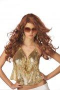 Perruque rousse glamour pour femme