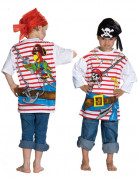 T-shirt imprimé pirate enfant