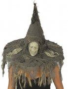 Chapeau de sorcière crâne