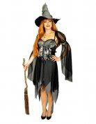 Déguisement sorcière grise femme Halloween