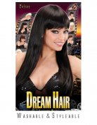 Straight Longhair Wig with Fringe brown