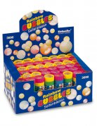 Flacon bulles de savon multicolore de 60ml
