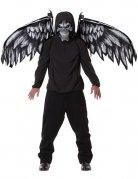 Masque ange de la mort et ailes