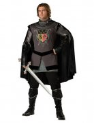 Black Knight Middle Ages Costume black