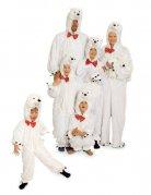 Déguisement peluche ours polaire enfant