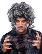 Halloween Baroque Zombie Wig Curls grey