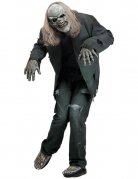 Zombie Halloween Costume Set grey