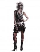 Déguisement punk zombie 80's femme Halloween