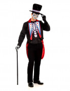 Skeleton Groom Halloween-Costume black