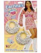 Boucles d'oreilles Disco adulte