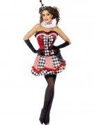 Déguisement clown à corset femme