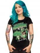 Vegan Girlie Shirt - Zombie Planteaters