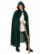 Cape médiévale velours avec capuche