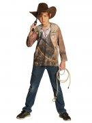 Déguisement tee-shirt cow-boy enfant