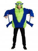 Monster Unisex Halloween Costume blue-green