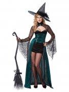 Déguisement sorcière séduisante femme Halloween