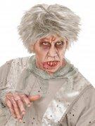 Perruque zombie homme gris