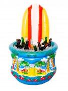 Refroidisseur de boissons gonflables Surf Plage