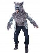 Déguisement loup-garou gris adultes