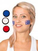 Kit maquillage supporter bleu blanc rouge