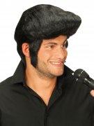 Perruque noire de Rock-star