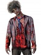 Déguisement zombie ensanglanté homme