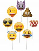 Kit photobooth 8 pièces Emoji™