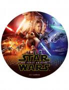 Disque en sucre Star Wars VII™ 20 cm