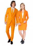 Déguisement de couple Opposuits™ orange