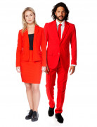 Déguisement de couple Opposuits™ rouge