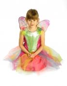 Déguisement papillon multicolore fille