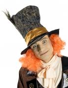 Chapeau haut de forme chapelier avec cheveux adulte