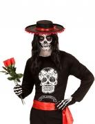 T-shirt squelette homme Dia de los muertos