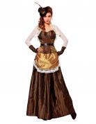 Déguisement noble baroque femme Steampunk