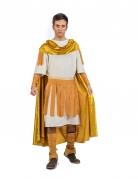 Déguisement empereur romain doré homme