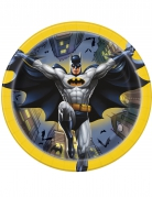 8 Petites assiettes en carton Batman ™ 18 cm
