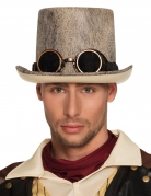 Chapeau haut de forme patiné adulte Steampunk