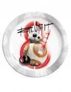 8 assiettes BB-8 Star Wars 8 The Last Jedi ™ 23 cm