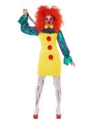 Déguisement clown de l'horreur femme