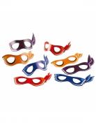8 Masques en carton Tortues Ninja™