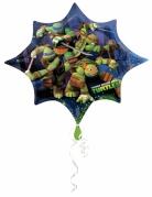 Ballon étoile aluminium Tortues Ninja™ 88 X 73 cm
