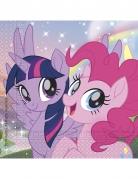 20 Serviettes en papier Pony & Friends™ 33 x 33 cm