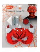 Kit maquillage et masque diable