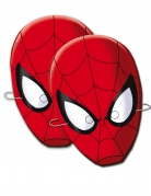 6 Masques en carton Spider-Man™