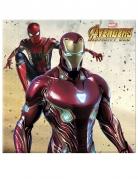 20 Serviettes Avengers Infinity War™ 33 x 33 cm